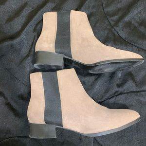 Size 9.5 ankle booties.